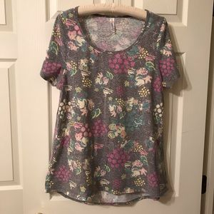 LuLaRoe Disney Minnie Mouse Short Sleeve Top